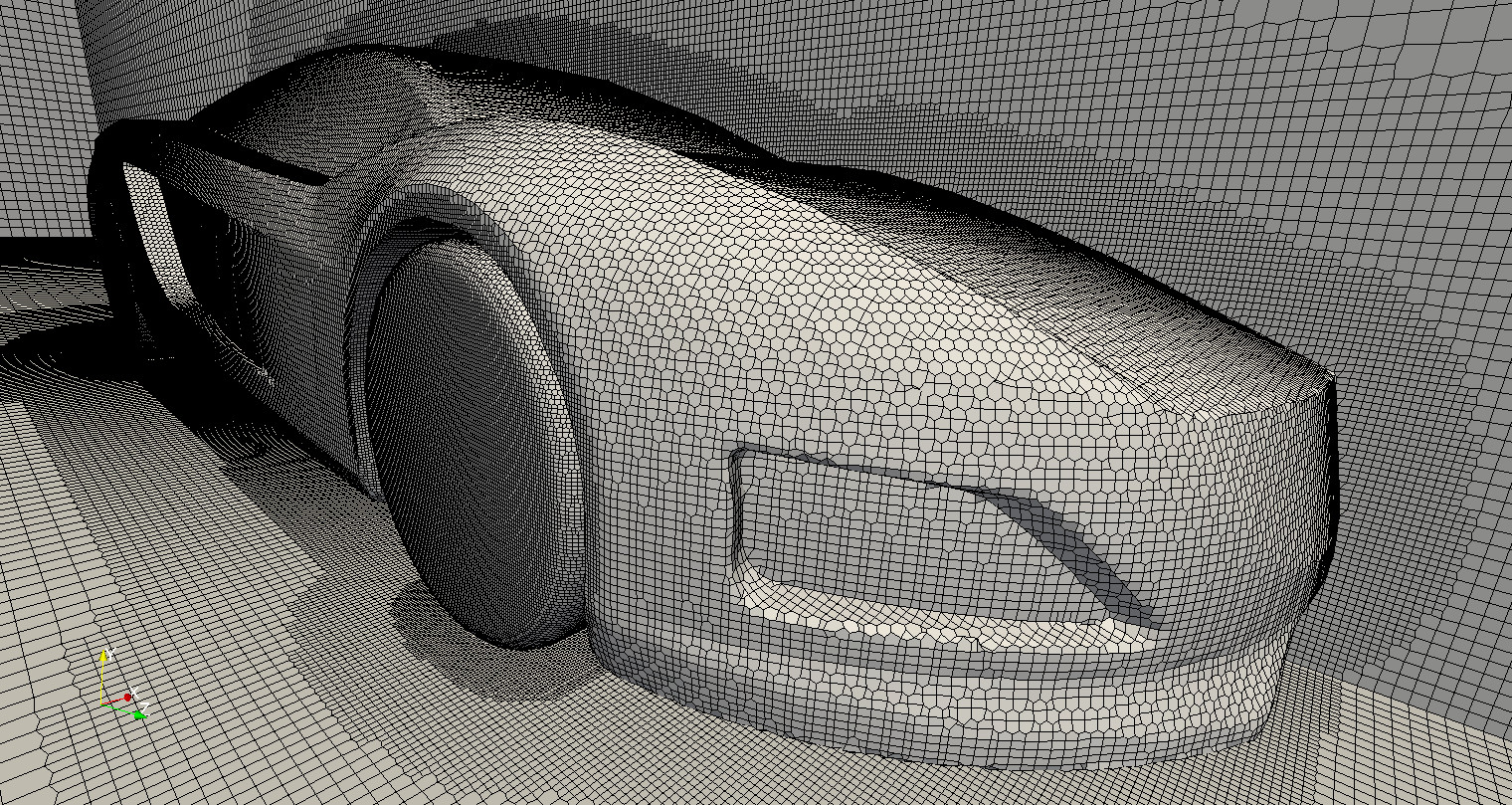 Hexahedral mesh